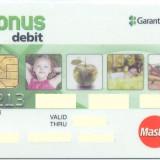 Card bancar Mastercard Garanti
