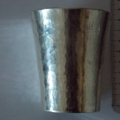 Pahar argint vintage, Pahare