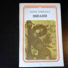 Didahii - Antim Ivireanul, Editura Minerva, 1983, 247 pag - Carti Predici