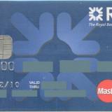 Card bancar Mastercard RBS