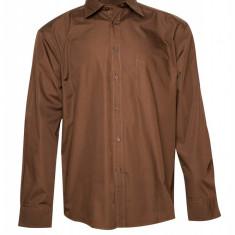 Camasa casual US Basic, pentru barbati, Maro