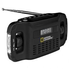 Radio Solar Cu Incarcator National Geographic