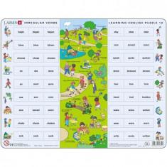 Puzzle Invatam Limba Engleza Nr12, 54 Piese Larsen Lren12-Gb