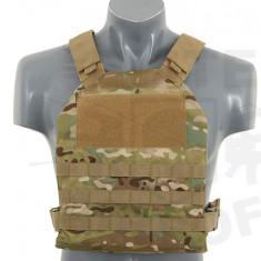 Vesta tactica Carrier Plate - Multicamo [8FIELDS] - Echipament Airsoft