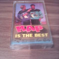 CASETA AUDIO RAP-IS THE BEST RARITATE!!! ORIGINALA - Muzica Pop, Casete audio