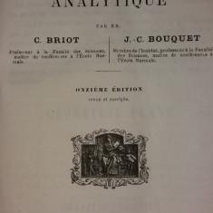 C. BRIOT - J. C. BOUQUET - LECONS DE GEOMETRIE ANALYTIQUE