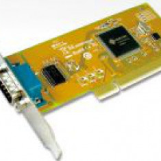 Port serial 9 pini, high profile, conexiune PCI - Convertor