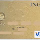 Card bancar Visa ING