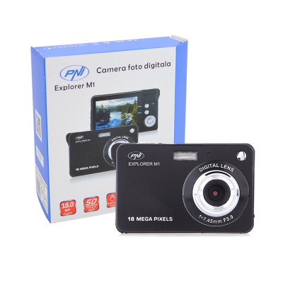 Resigilat : Camera foto digitala PNI Explorer M1 18MP display LCD 2.7 inch foto