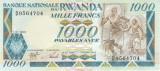Bancnota Rwanda 1,000 Franci 1988 - P21 UNC