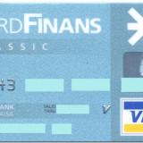 Card bancar Visa Finans