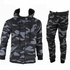 Trening gros toamna - iarna Camuflaj US Army Bluza si pantaloni conici Model Nou - Trening barbati Nike, Marime: S, Culoare: Din imagine