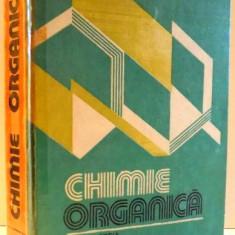 CHIMIE ORGANICA de MIRCEA IOVU, EDITIA A III-A, 1993 - Carte Chimie