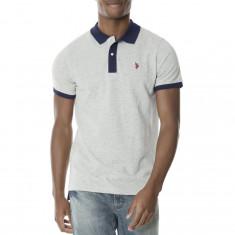 Tricou Polo US POLO ASSN - Tricouri Barbati - 100% AUTENTIC - Tricou barbati US Polo Assn, Marime: M, XL, Culoare: Din imagine, Maneca scurta, Bumbac
