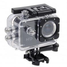 Camera Sport GoPro NOU / Rezistent la apa / Cleme prindere casca-bicicleta - Camera Video Actiune, Card de memorie