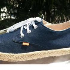 Mocasini barbati Adidas tenisi SUPER DRY nr.42 originali stare de nou, Culoare: Albastru