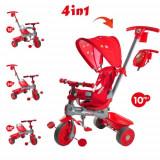 Tricicleta Baby Trike 4 in 1 Giraffe Red - Tricicleta copii