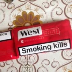 Tutun pentru rulat West rosu -plic 50 grame--tutun rulat Bucuresti-