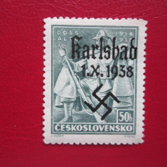 GERMANIA KARLSBAD 1938 =SERIE=MNH, Nestampilat