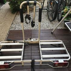 Suport 3 biciclete Atera cu prindere pe carlig. - Suport Bicicleta