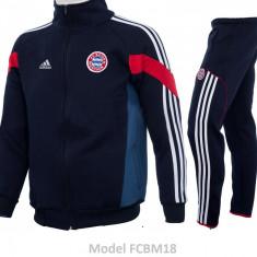 Trening toamna - iarna Bayern Munchen - Bluza si pantaloni conici - 1101 - Trening barbati, Marime: S, Culoare: Din imagine