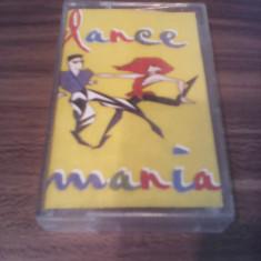 CASETA AUDIO DANCE MANIA-N&D/MOROMETZII/GASKA/VAN NOIZZ/MR.X.... RARA!!ORIGINALA