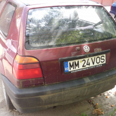 Golf 3, An Fabricatie: 1993, Benzina, 280000 km, 1600 cmc