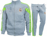 Trening toamna - iarna REAL MADRID - Bluza si pantaloni conici - Modele noi 1103, S