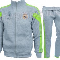 Trening toamna - iarna REAL MADRID - Bluza si pantaloni conici - Modele noi 1103 - Trening barbati, Marime: S, XL, XXL, Culoare: Din imagine
