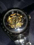 Ceas automatic masiv,CHTIME,3Atm,water resistant,all stainless steel,perfect fun, Mecanic-Automatic, Timex