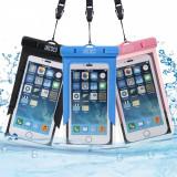 Carcase impermeabile pentru telefon x3 Waterproof Case (negru, albastru, roz)