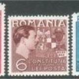 1938 Romania, LP 124-Constitutia-MNH - Timbre Romania, Nestampilat