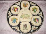 541- Aplica Austria veche ceramica Stema Tarii.