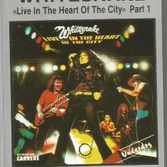 A(01) Caseta audio- WHITESNAKE - LIVE IN THE HEART OF THE CITY - Muzica Rock, Casete audio