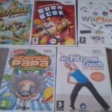 LOT Nr 2 - 5 Jocuri Nintendo Wii - Jocuri WII, Actiune, 3+, Multiplayer