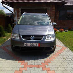 VW TOURAN HIGHLINE, An Fabricatie: 2004, 21800 km, Motorina/Diesel, 2000 cmc, Break