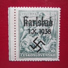 GERMANIA=KARLSBAD 1938 SERIE=MNH, Nestampilat