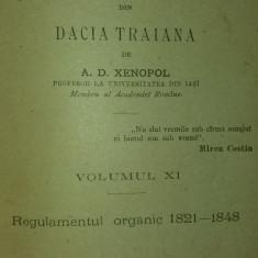 A. D. XENOPOL - ISTORIA ROMANILOR DIN DACIA TRAIANA -VOL. X-XII - Carte veche