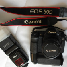 Canon 50D + Flash Nissin Mark II URGENT - Aparat foto DSLR