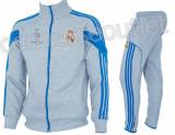 Trening toamna - iarna REAL MADRID - Bluza si pantaloni conici - Modele noi 1099, S