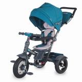 Tricicleta multifunctionala Giro Plus Albastru Coccolle - Tricicleta copii