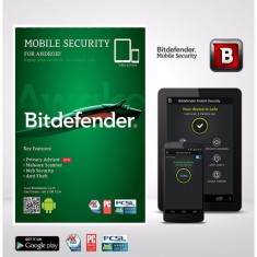 Bitdefender Mobile Security 1 Device 6 Months - Antivirus