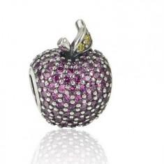Charm Pandora Mar cu Cristale Bordeau - Bratara argint pandora, Femei