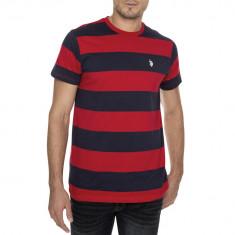 Tricou US POLO ASSN - Tricouri Barbati - 100% AUTENTIC - Tricou barbati US Polo Assn, Marime: S, M, Culoare: Din imagine, Maneca scurta, Bumbac