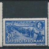 1942 Romania LP148 II- Un an BASARABIA-MNH - Timbre Romania, Nestampilat