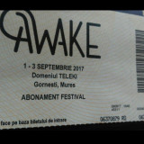 Abonamente Awake Festival - Bilet concert