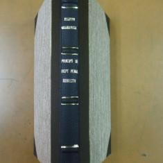 Filippo Gramatica Principii de drept penal subiectiv 1934 Traducere Jean Moruzi - Carte Drept penal
