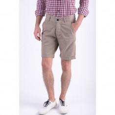 Pantaloni Scurti Bumbac Jack&Jones Field Chino Camel - Bermude barbati, Marime: S, Culoare: Maro