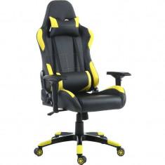 Scaun gaming Inaza Vespa Black / Yellow
