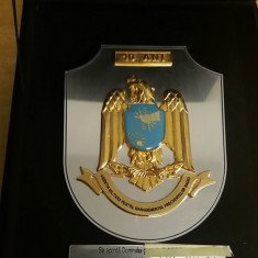 MPL4 - PLACHETA - TEMATICA MILITARA - FRECVENTE RADIO - PIESA DE COLECTIE - Medalii Romania
